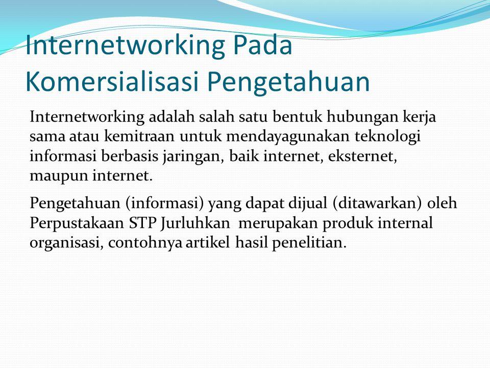 Internetworking Pada Komersialisasi Pengetahuan