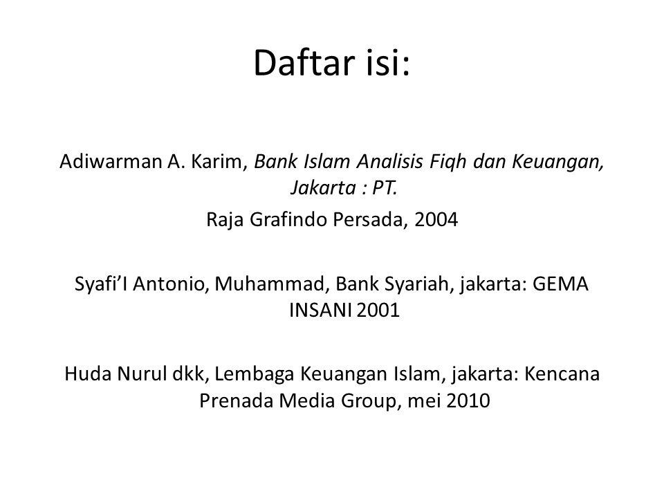 Daftar isi: