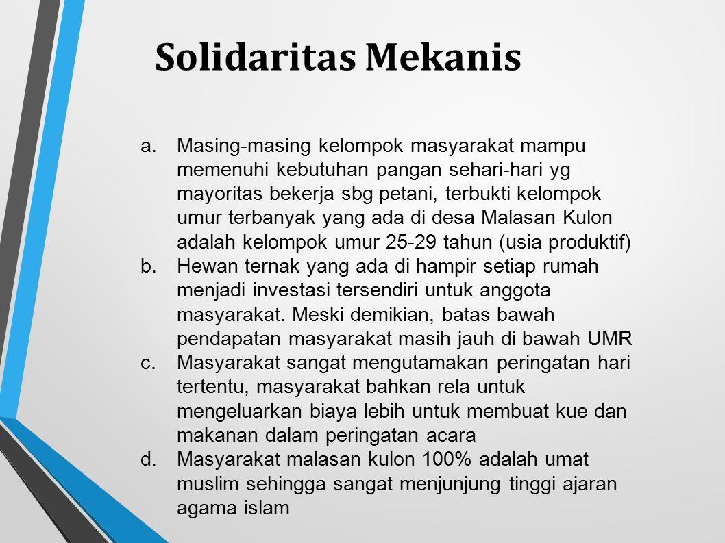 Solidaritas Mekanis