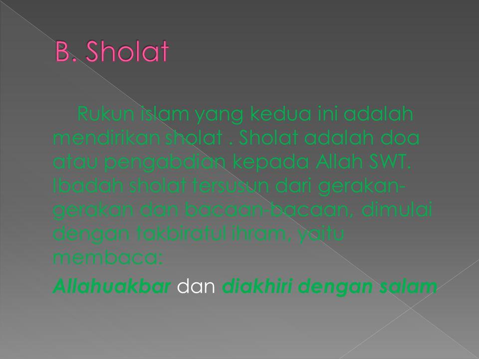 B. Sholat