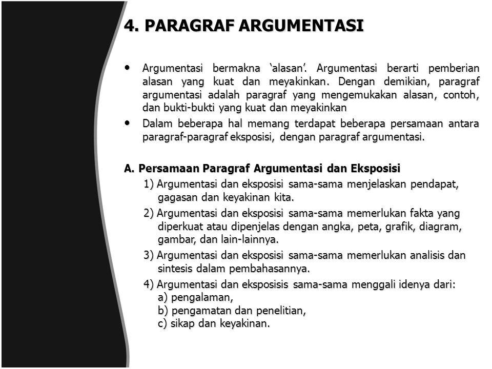 4. PARAGRAF ARGUMENTASI