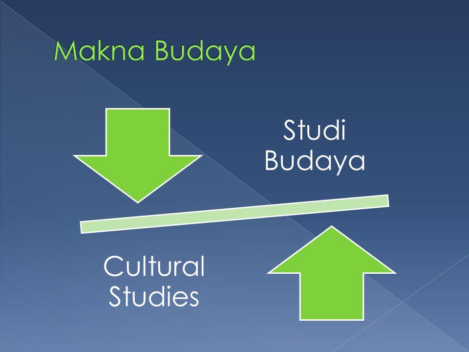 Makna Budaya Studi Budaya Cultural Studies