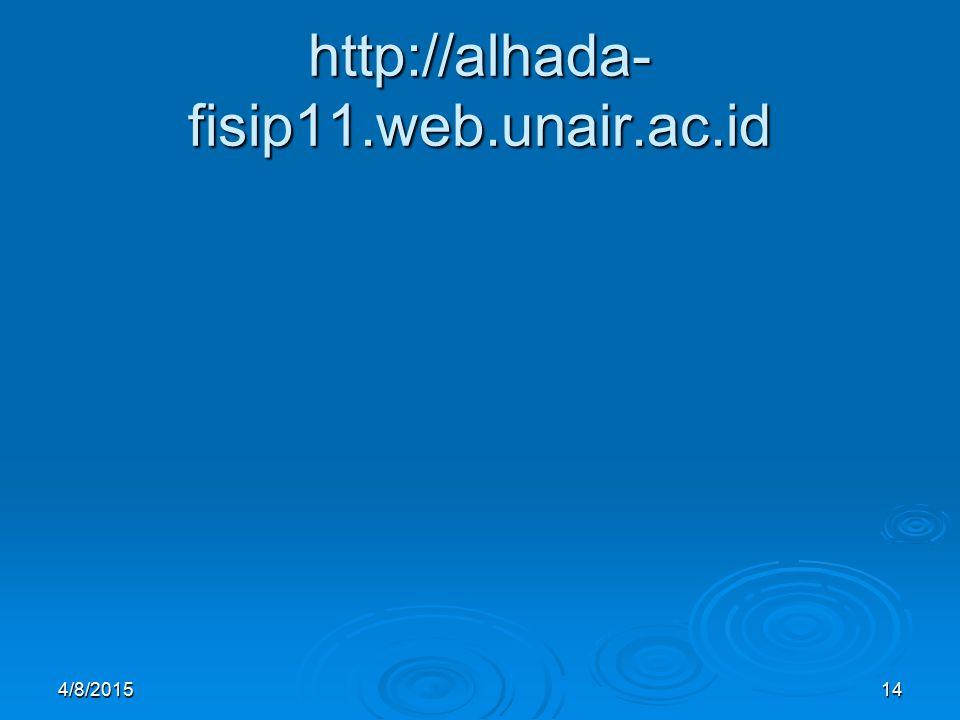 http://alhada-fisip11.web.unair.ac.id 4/10/2017