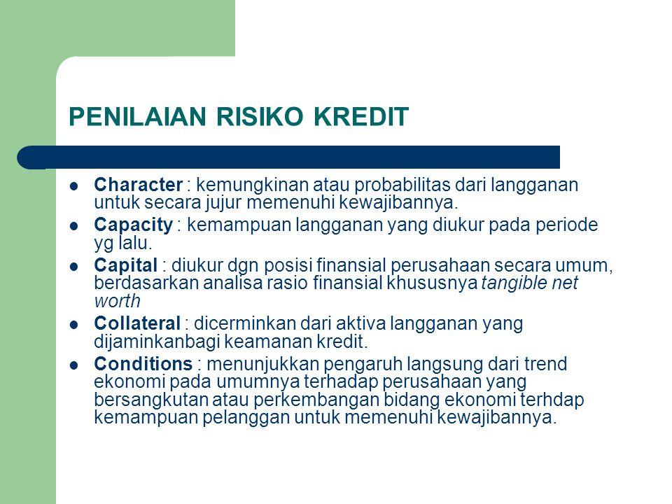 PENILAIAN RISIKO KREDIT