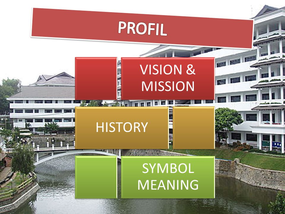 PROFIL VISION & MISSION HISTORY SYMBOL MEANING