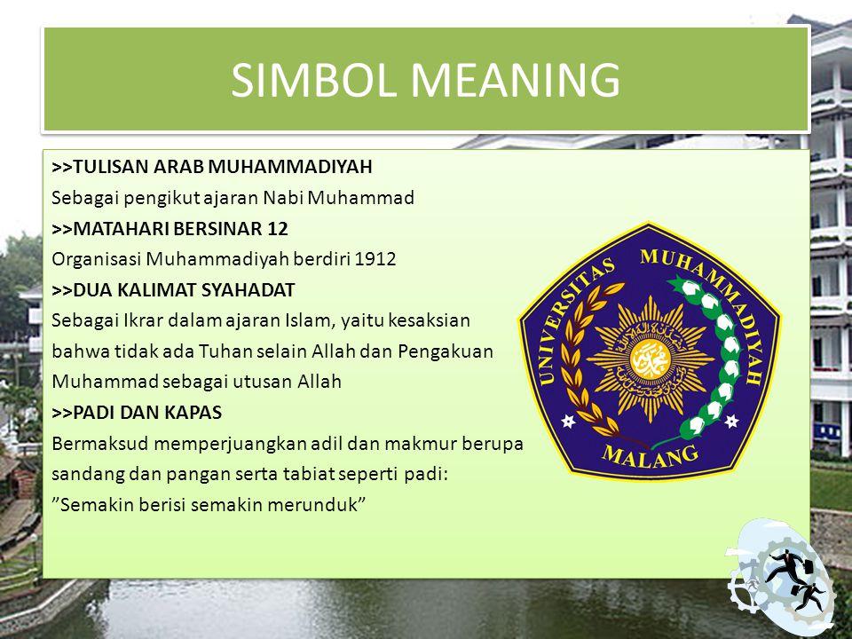 SIMBOL MEANING