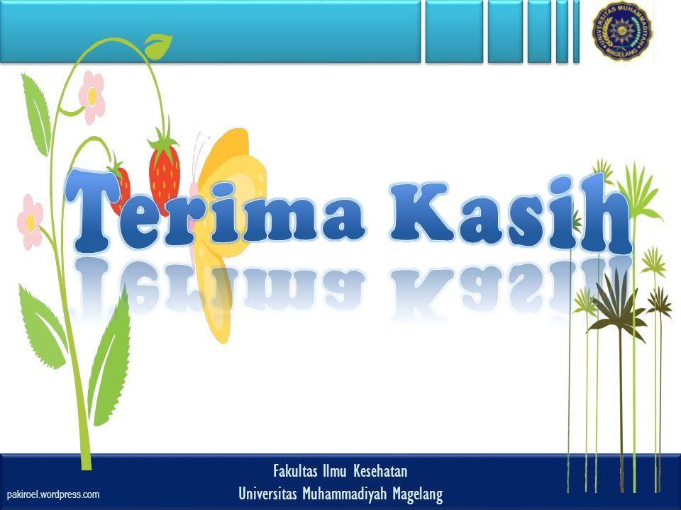 Terima Kasih Fakultas Ilmu Kesehatan Universitas Muhammadiyah Magelang