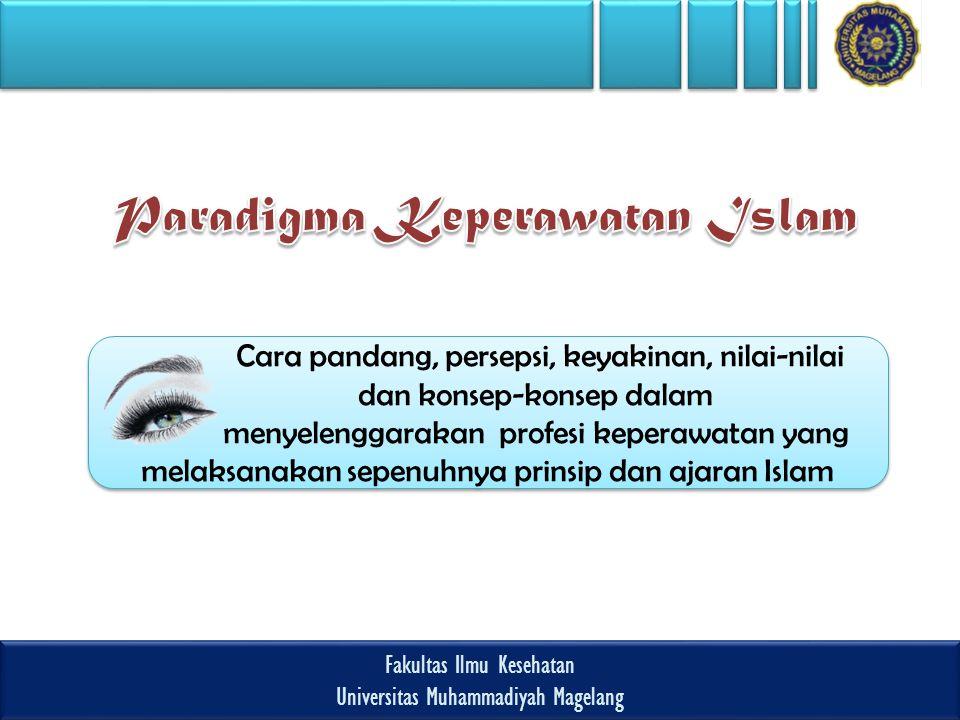Paradigma Keperawatan Islam