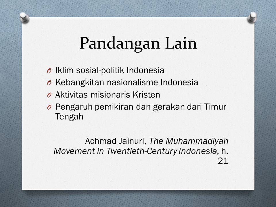Pandangan Lain Iklim sosial-politik Indonesia