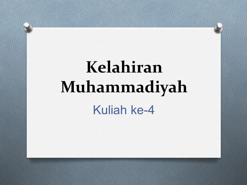 Kelahiran Muhammadiyah