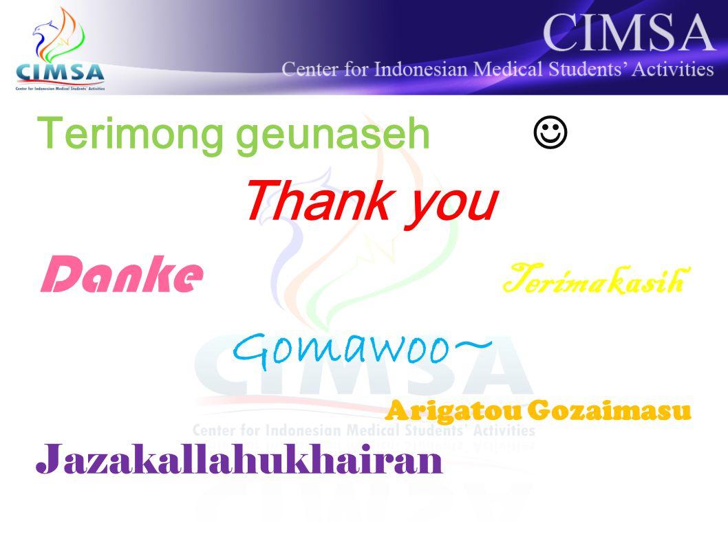 Thank you Danke Terima kasih Gomawoo~ Terimong geunaseh 