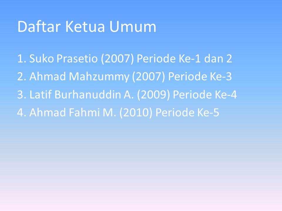 Daftar Ketua Umum