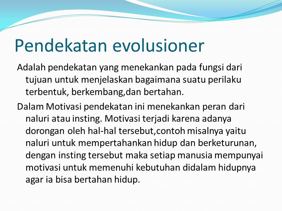 Pendekatan evolusioner