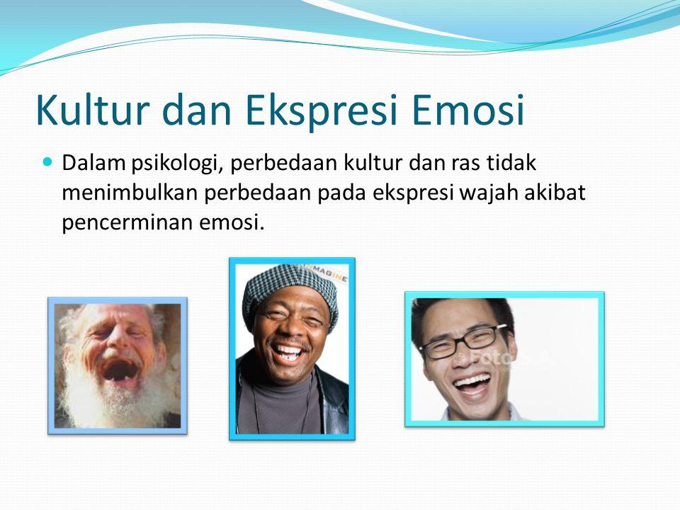 Kultur dan Ekspresi Emosi