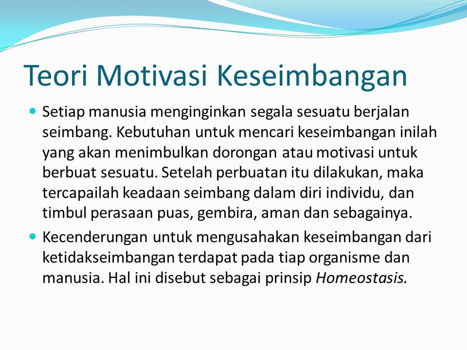 Teori Motivasi Keseimbangan