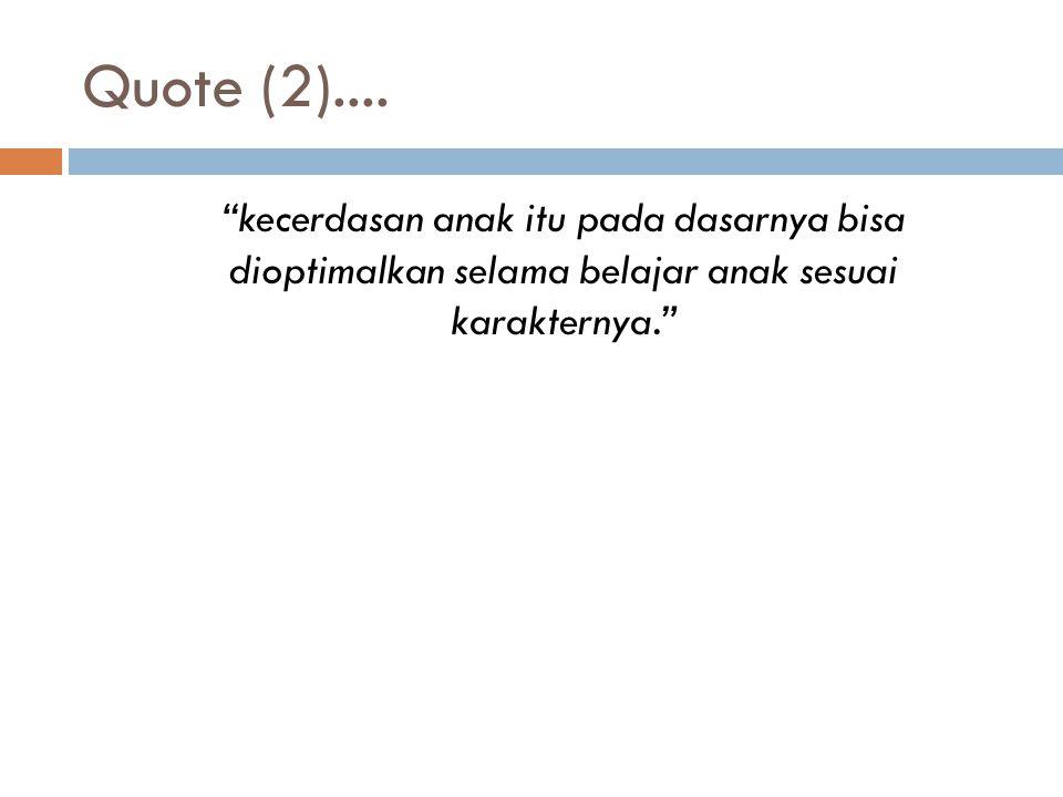 Quote (2)....