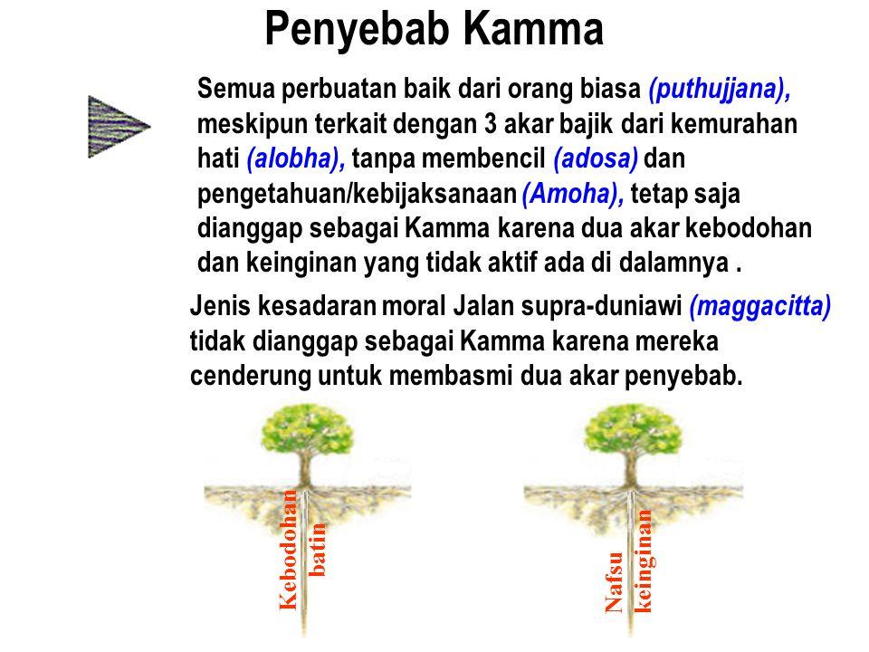 Penyebab Kamma