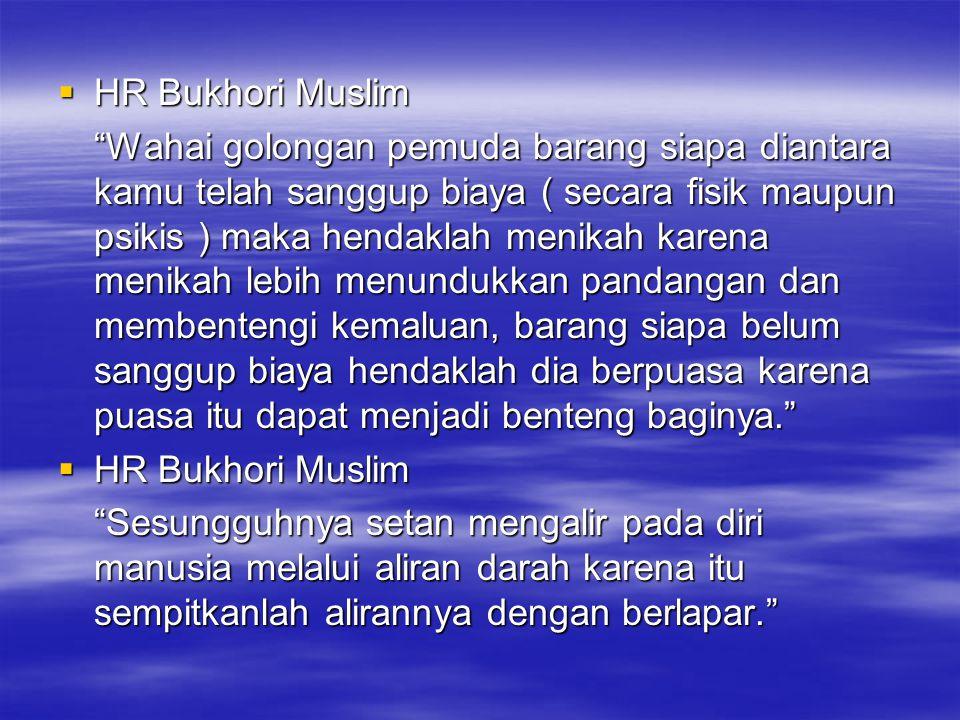 HR Bukhori Muslim