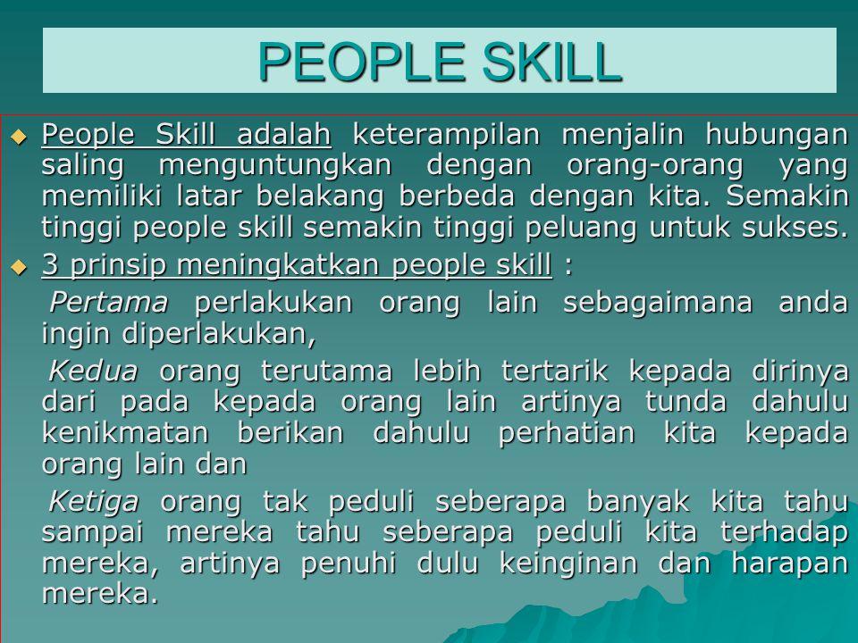 PEOPLE SKILL