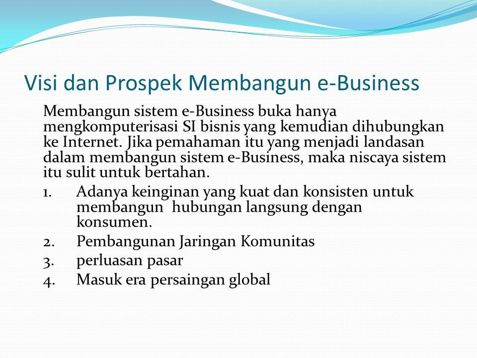 Visi dan Prospek Membangun e-Business