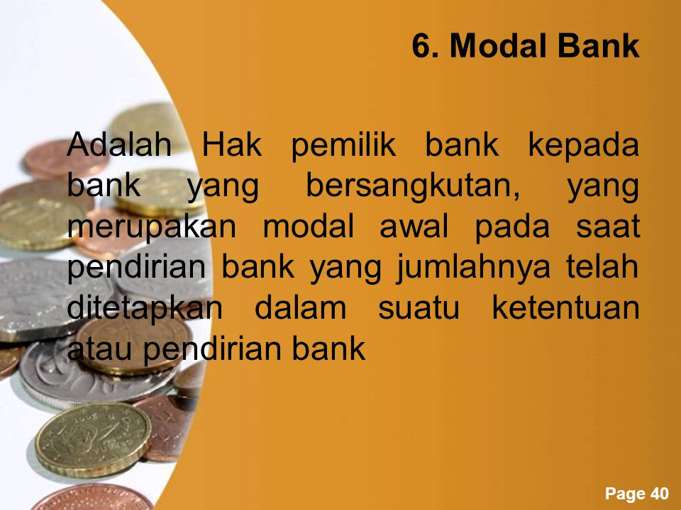 6. Modal Bank