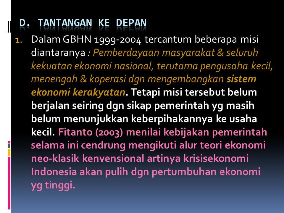 D. TANTANGAN KE DEPAN