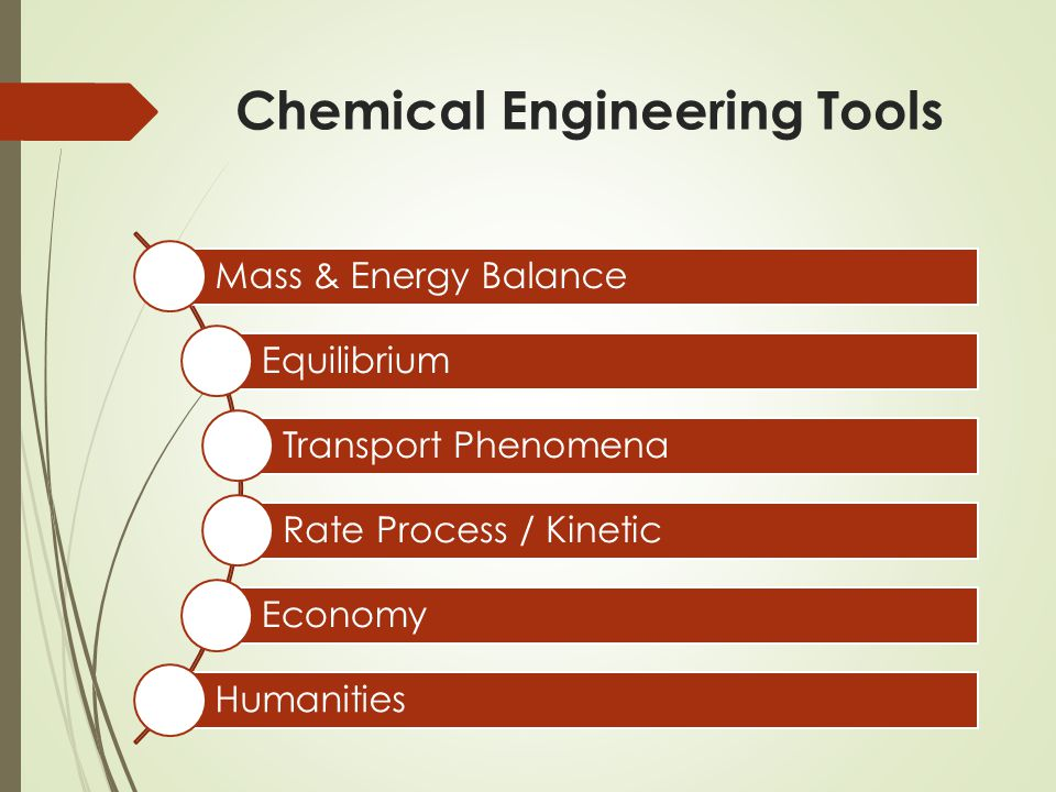Chemical Engineering Tools