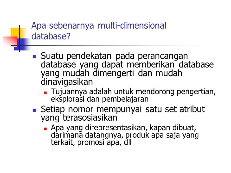 Apa sebenarnya multi-dimensional database