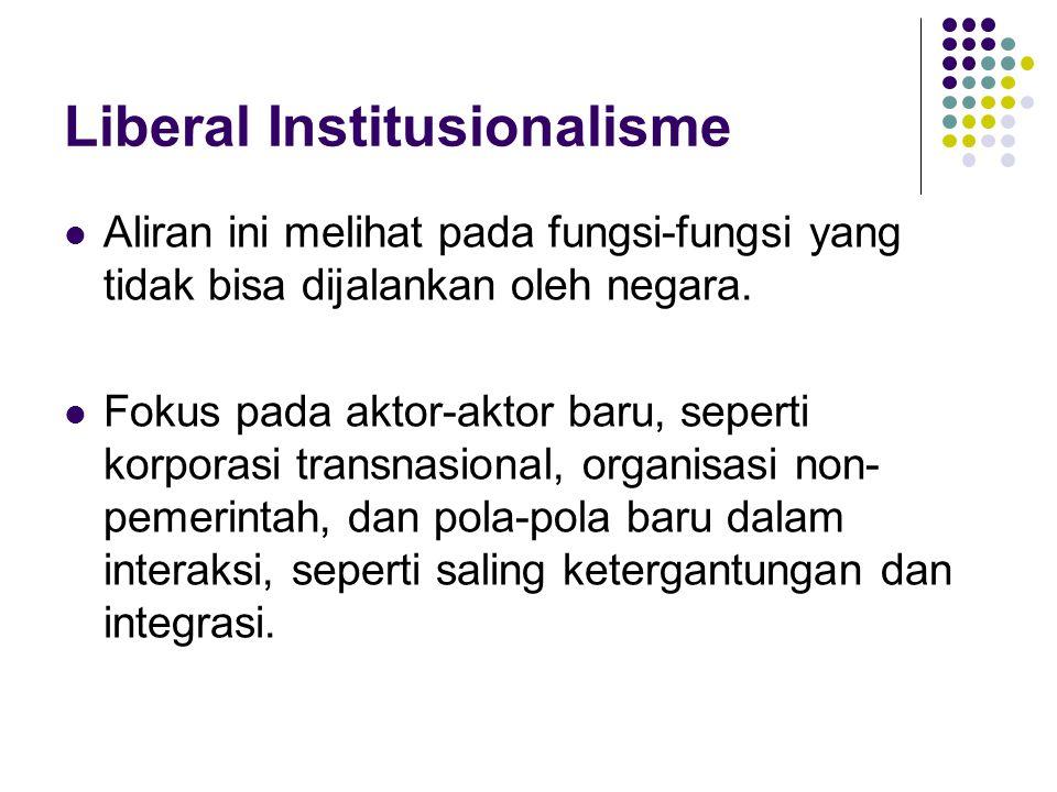 Liberal Institusionalisme