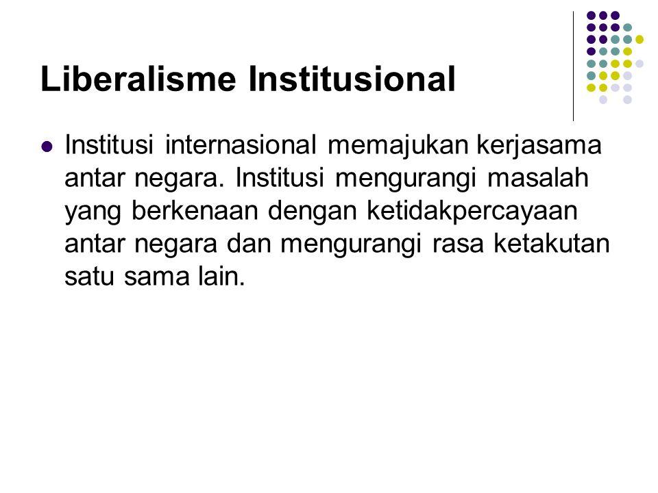Liberalisme Institusional