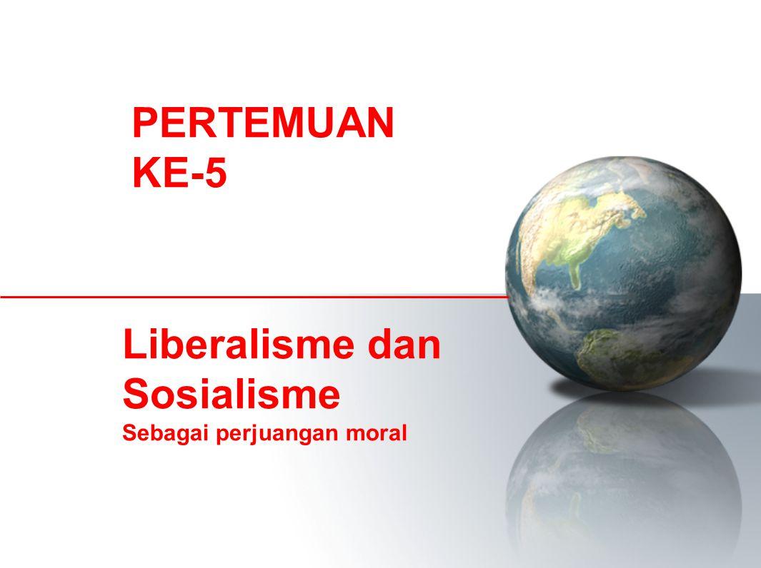 Liberalisme dan Sosialisme