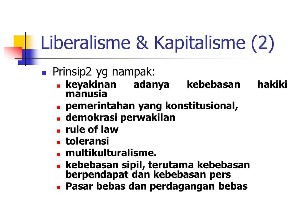 Liberalisme & Kapitalisme (2)