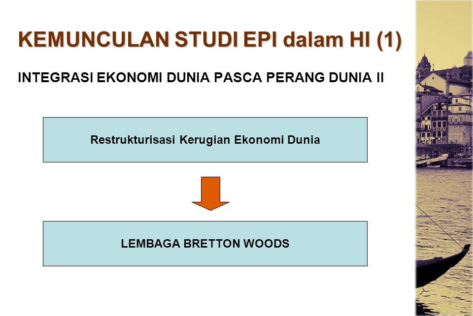 KEMUNCULAN STUDI EPI dalam HI (1)