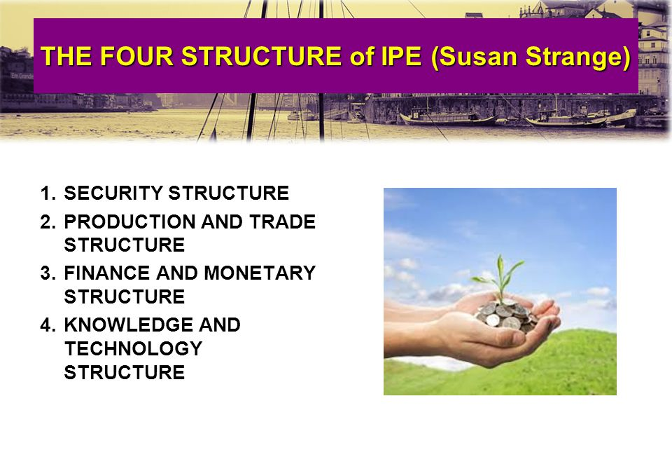 THE FOUR STRUCTURE of IPE (Susan Strange)