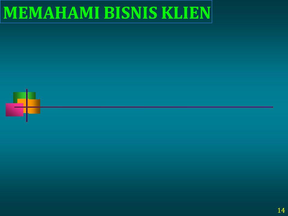 MEMAHAMI BISNIS KLIEN 14