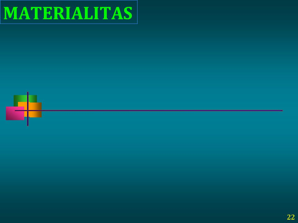 MATERIALITAS 22