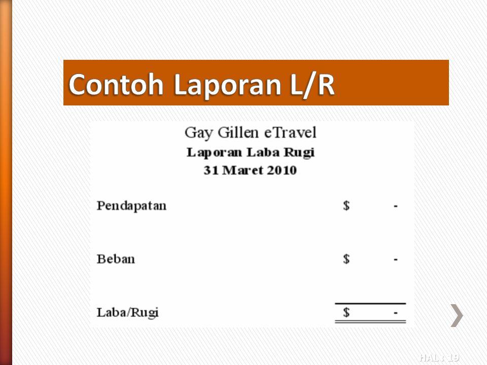 Contoh Laporan L/R