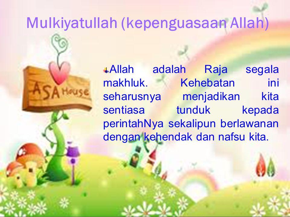 Mulkiyatullah (kepenguasaan Allah)