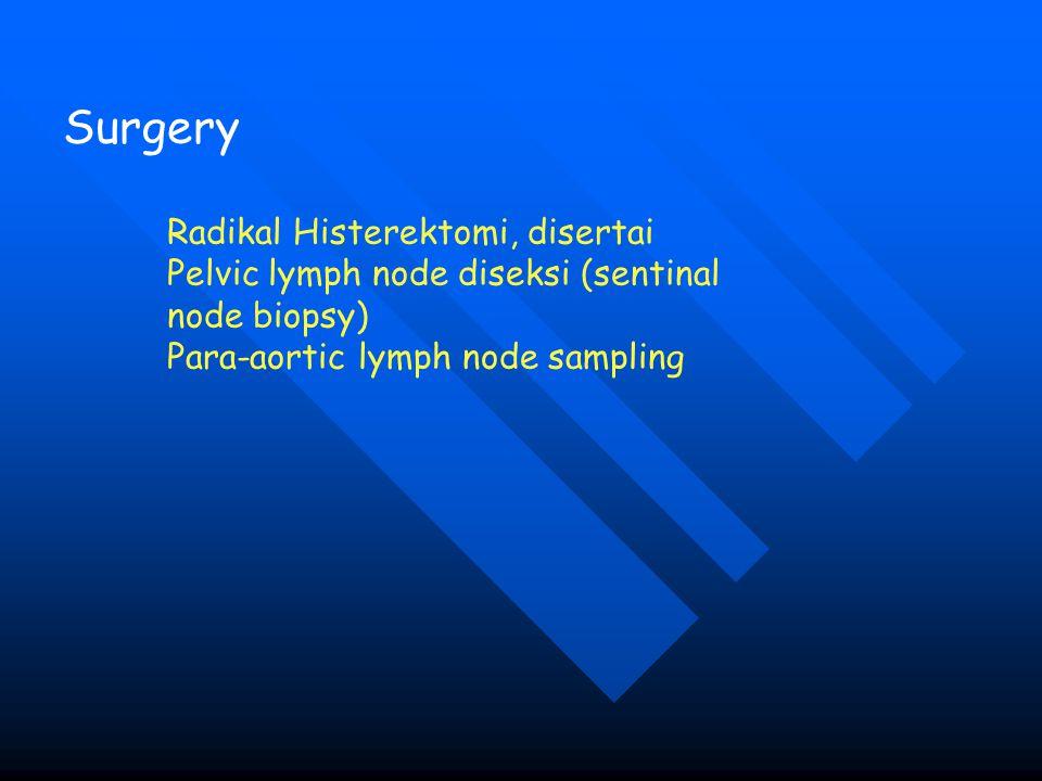 Surgery Radikal Histerektomi, disertai