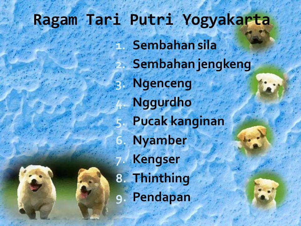 Ragam Tari Putri Yogyakarta