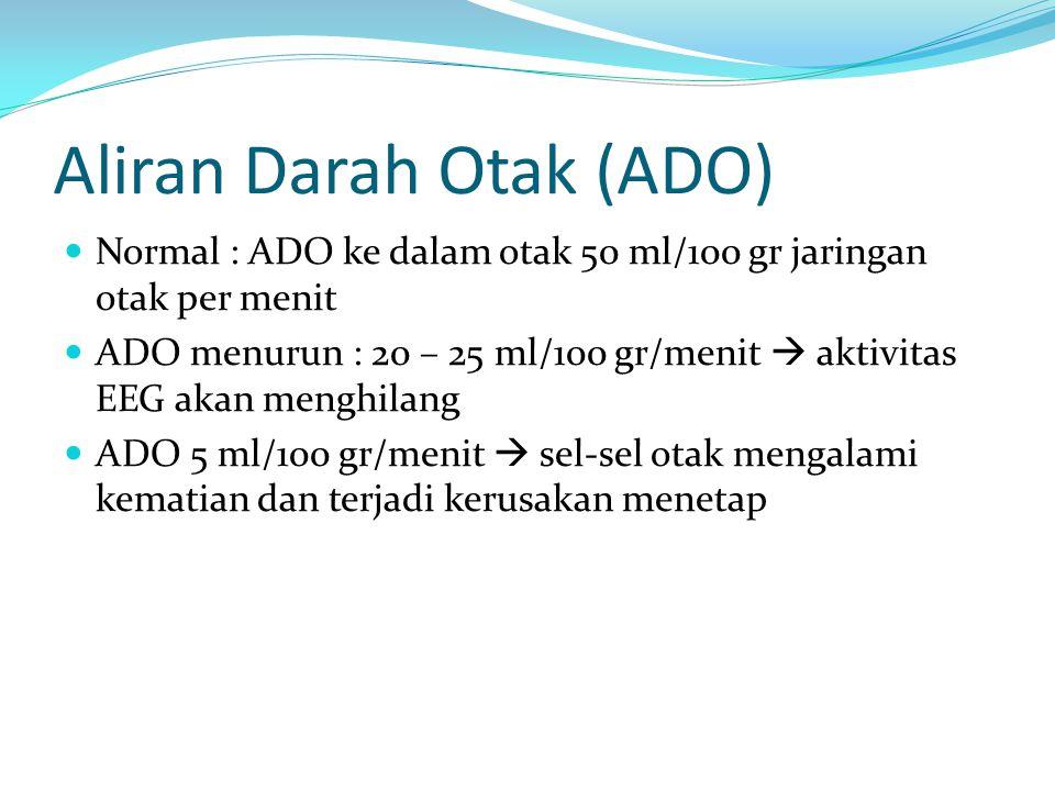 Aliran Darah Otak (ADO)