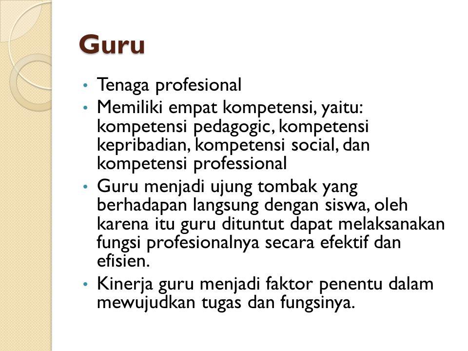 Guru Tenaga profesional