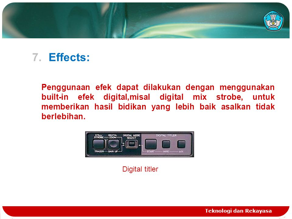 Effects: