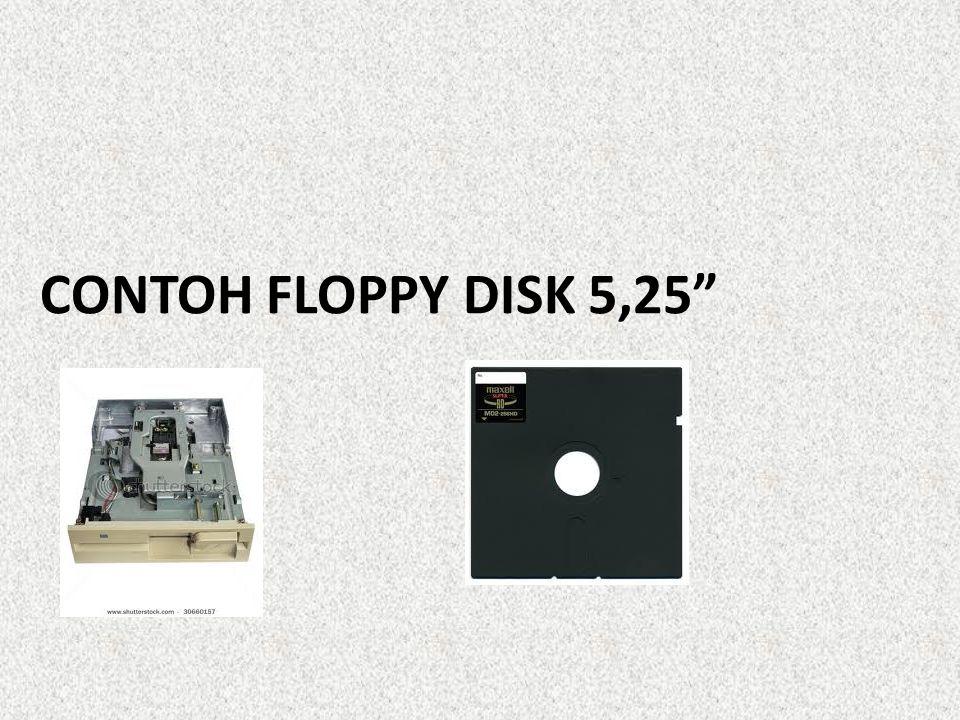 CONTOH FLOPPY DISK 5,25