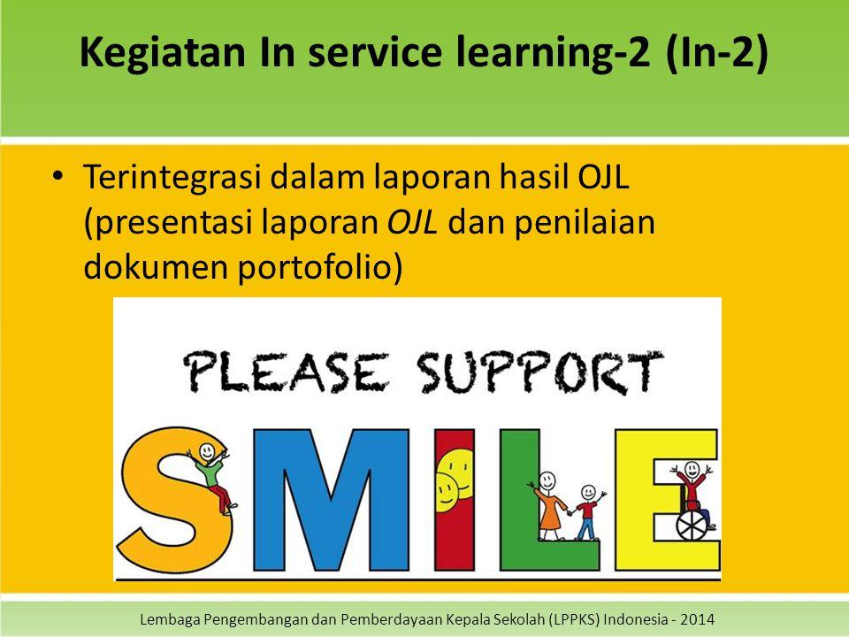 Kegiatan In service learning-2 (In-2)