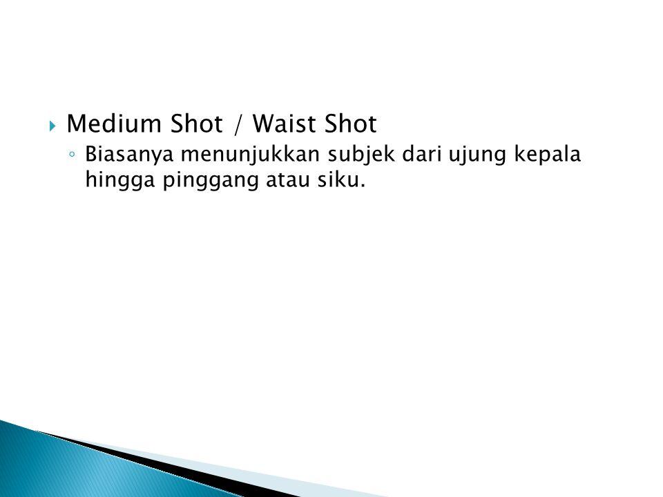 Medium Shot / Waist Shot