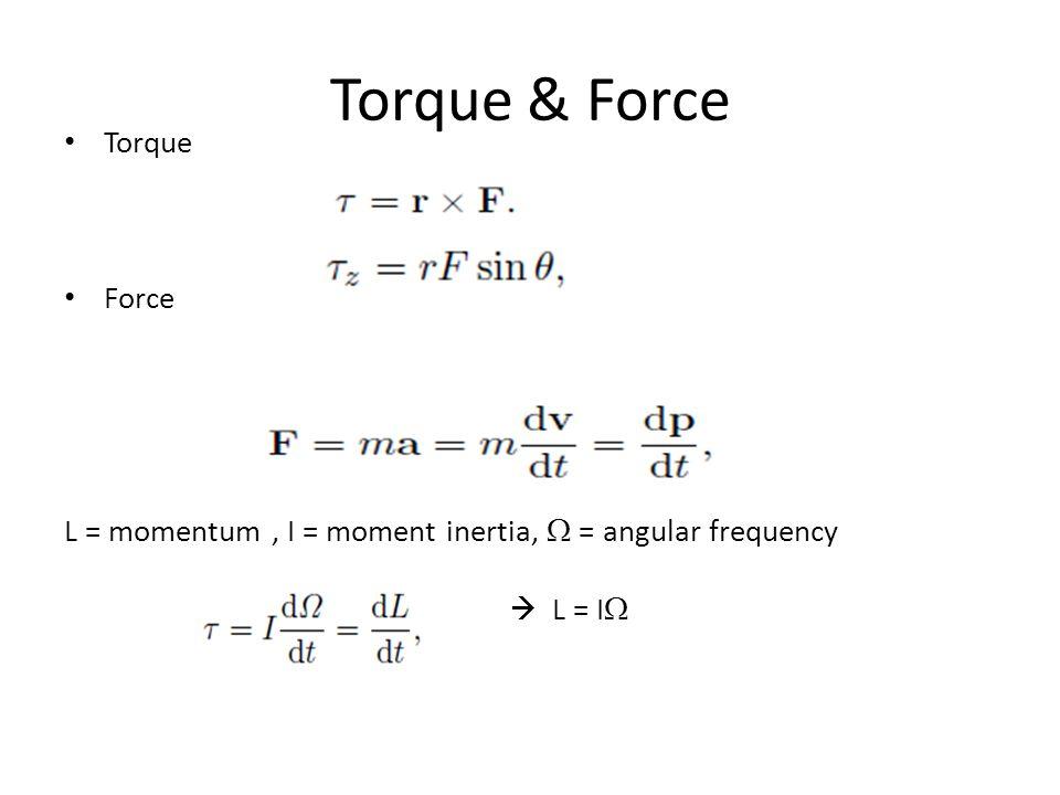 Torque & Force Torque Force