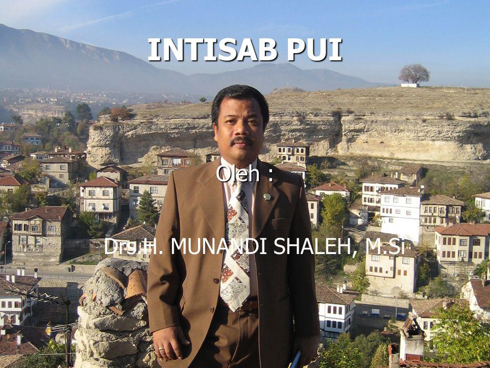 Drs.H. MUNANDI SHALEH, M.Si