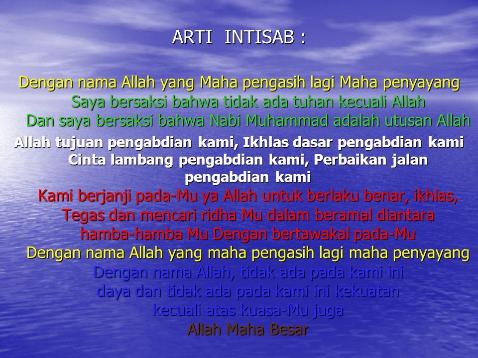 ARTI INTISAB :