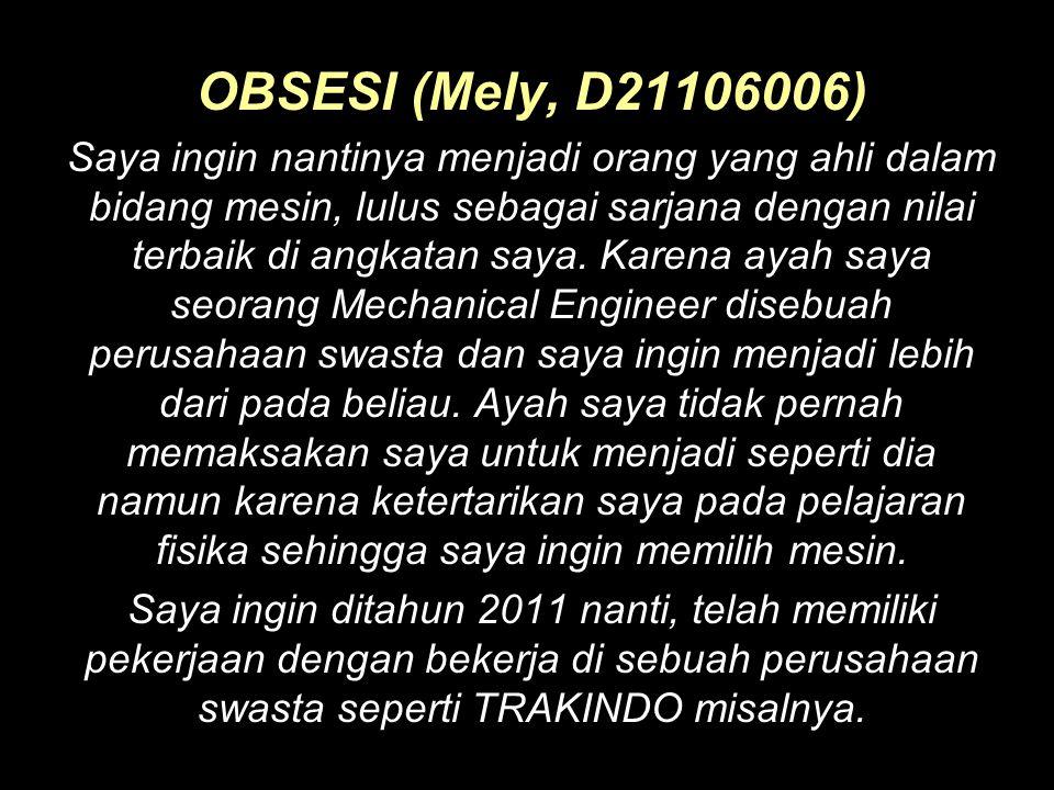 OBSESI (Mely, D21106006)